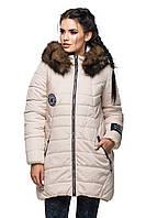 Зимняя стеганая куртка с капюшоном, фото 1