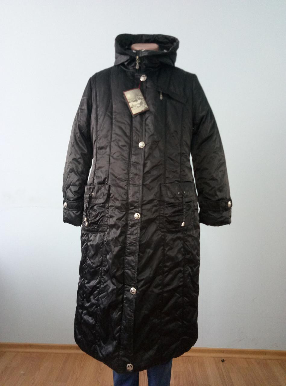Пальто женское зимнее длинное большого размера QUAN