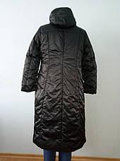 Пальто женское зимнее длинное большого размера QUAN, фото 3