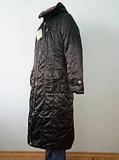 Пальто женское зимнее длинное большого размера QUAN, фото 2