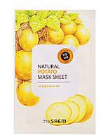 """The Saem Natural Sheet - Тканевая маска с натуральным экстрактом """"Картофель"""", 20 мл"""
