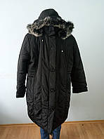 Пальто женское зимнее длинное большого размера DRAGON