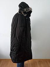 Пальто женское зимнее длинное очень большого размера DRAGON, фото 3