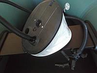Насос 2-камерный 6,3+1,2л высокого давления для надувной лодки