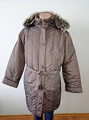 Пальто жіноче зимове довге дуже великого розміру DRAGON