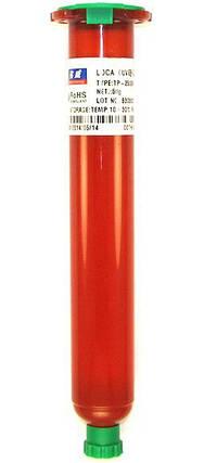 Клей ультрафиолетовый LOCA Mechanic TP-2500F, Вес: 50 г., фото 2