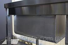 Мойка 1-но секционная с бортом 600/600/850 мм, фото 3