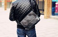Мужская кожаная сумка. Модель 61350, фото 4