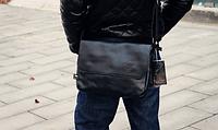 Мужская кожаная сумка. Модель 61350, фото 5
