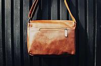 Мужская кожаная сумка. Модель 61350, фото 8