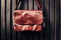 Мужская кожаная сумка. Модель 61350, фото 9