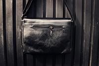 Мужская кожаная сумка. Модель 61350, фото 6