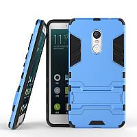 Чехол Броня Xiaomi Redmi Note 4  Бампер Blue