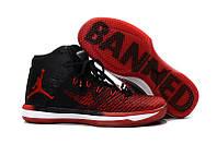 Женские баскетбольные кроссовки Air Jordan 31 Banned Red/Black