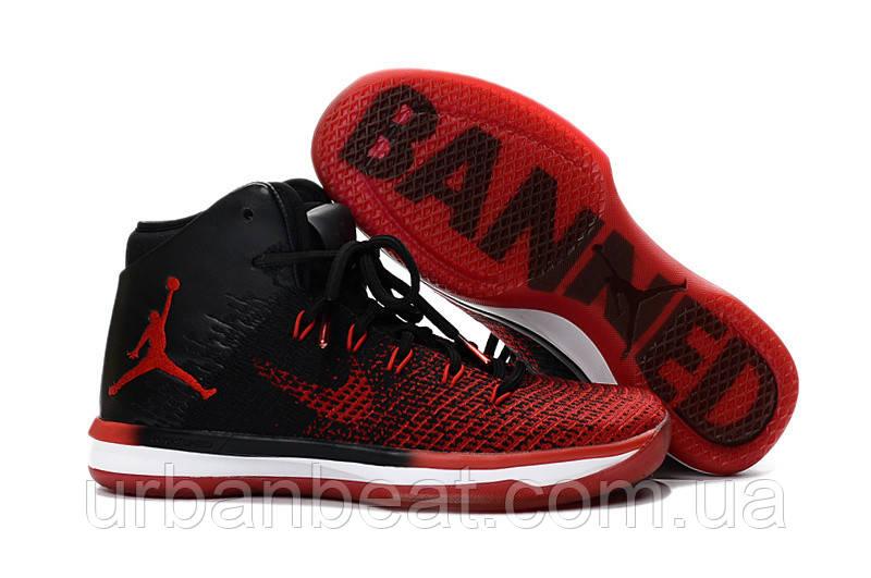 3ce0c11e9d0a Женские баскетбольные кроссовки Air Jordan 31 Banned Red Black - Urban Beat  в Харькове