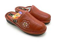 Домашние тапочки Spesita, эко - кожа. Женская обувь (35-40)