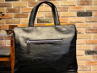 Мужская кожаная сумка. Модель 61351, фото 3
