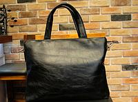Мужская кожаная сумка. Модель 61351, фото 2