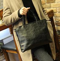 Мужская кожаная сумка. Модель 61351, фото 6
