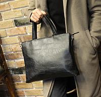 Мужская кожаная сумка. Модель 61351, фото 7