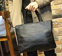 Мужская кожаная сумка. Модель 61351, фото 10