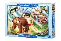 Пазл Castorland 60 деталей: В-06229 Маугли