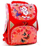 Ранец школьный Tiger для девочек Котенок, фото 1