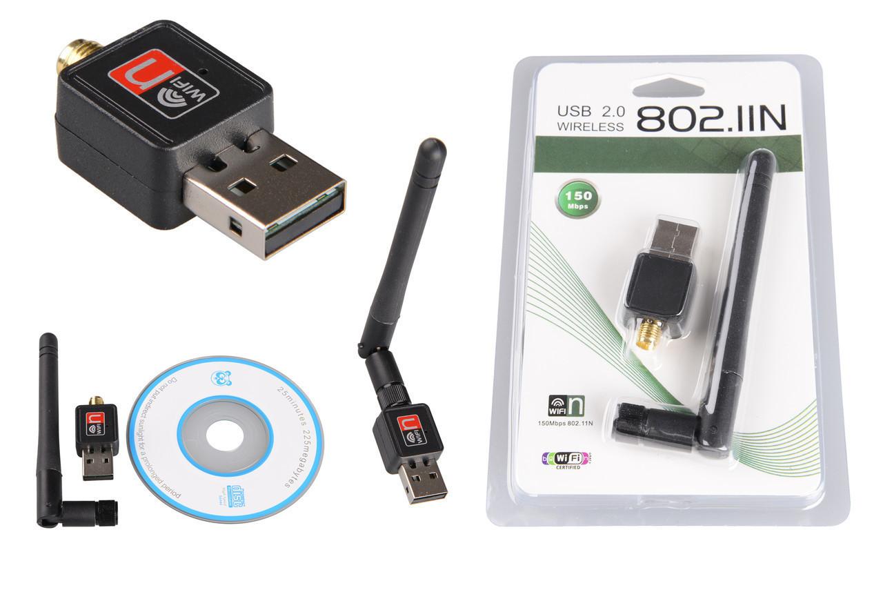 WiFi адаптер USB 150Mbps 802.11n - Строительные, отделочные инструменты, крепежный, механический инструмент - NEO-TOPEX в Киеве