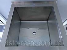Ванна моечная односекционная 500/500/850 мм, фото 3