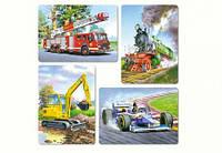 Пазлы Castorland 8#12#15#20 деталей: Транспорт (В-04089)