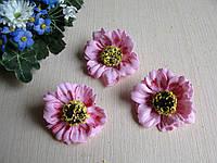 Маки из латекса розовый