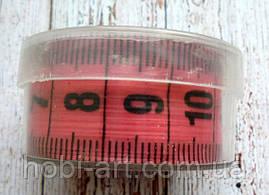 Сантиметр двохсторонній в тубусі 1,5м  №02