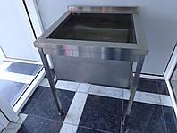 Ванна моечная сварная односекционная 700/700/850 мм