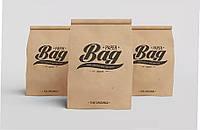 Крафт-пакет с дном 0,5 кг 90х68х220 с печатью