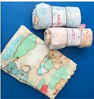Плед - одеяло для новорожденных 95-114см
