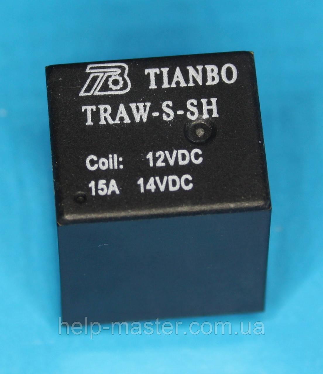 Реле TRAW-S-SH; 12VDC,   TIANBO