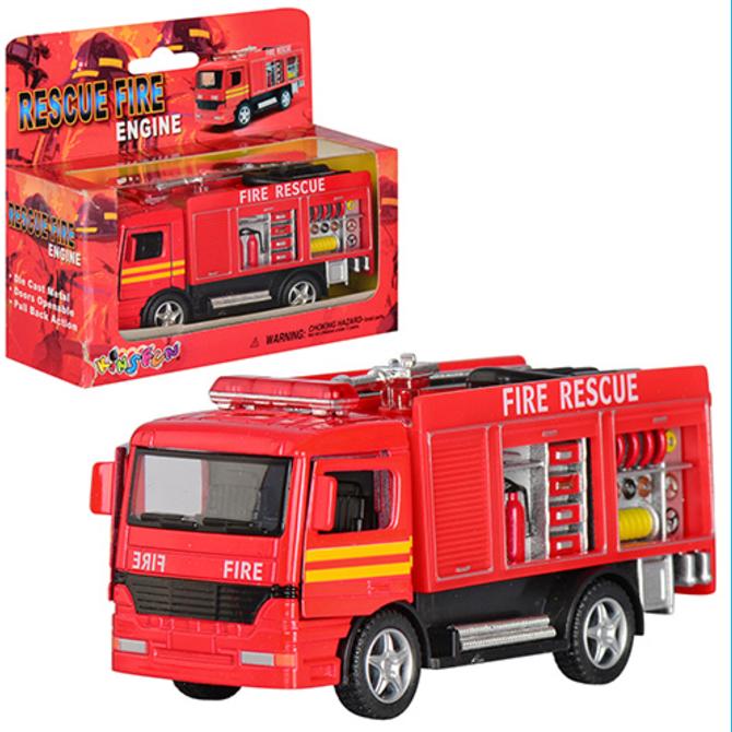 Пожарный грузовик металлический