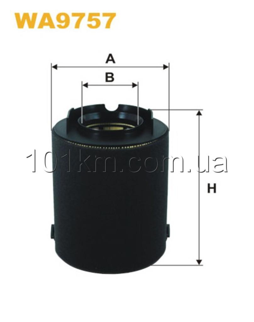 Фильтр воздушный WIX WA9757 (AK370/5)