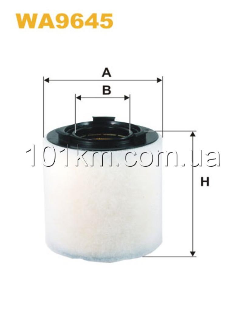 Фильтр воздушный WIX WA9645 (AK370/2)