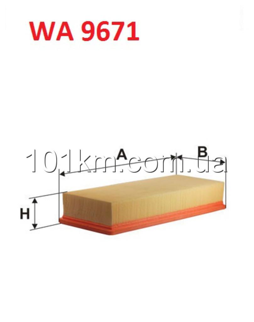 Фильтр воздушный WIX WA9671 (AP170/3)