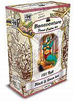 """Чорний та зелений чай Bonaventure """"1001 Ніч"""" - Суниця і тропічні фрукти 100 р."""