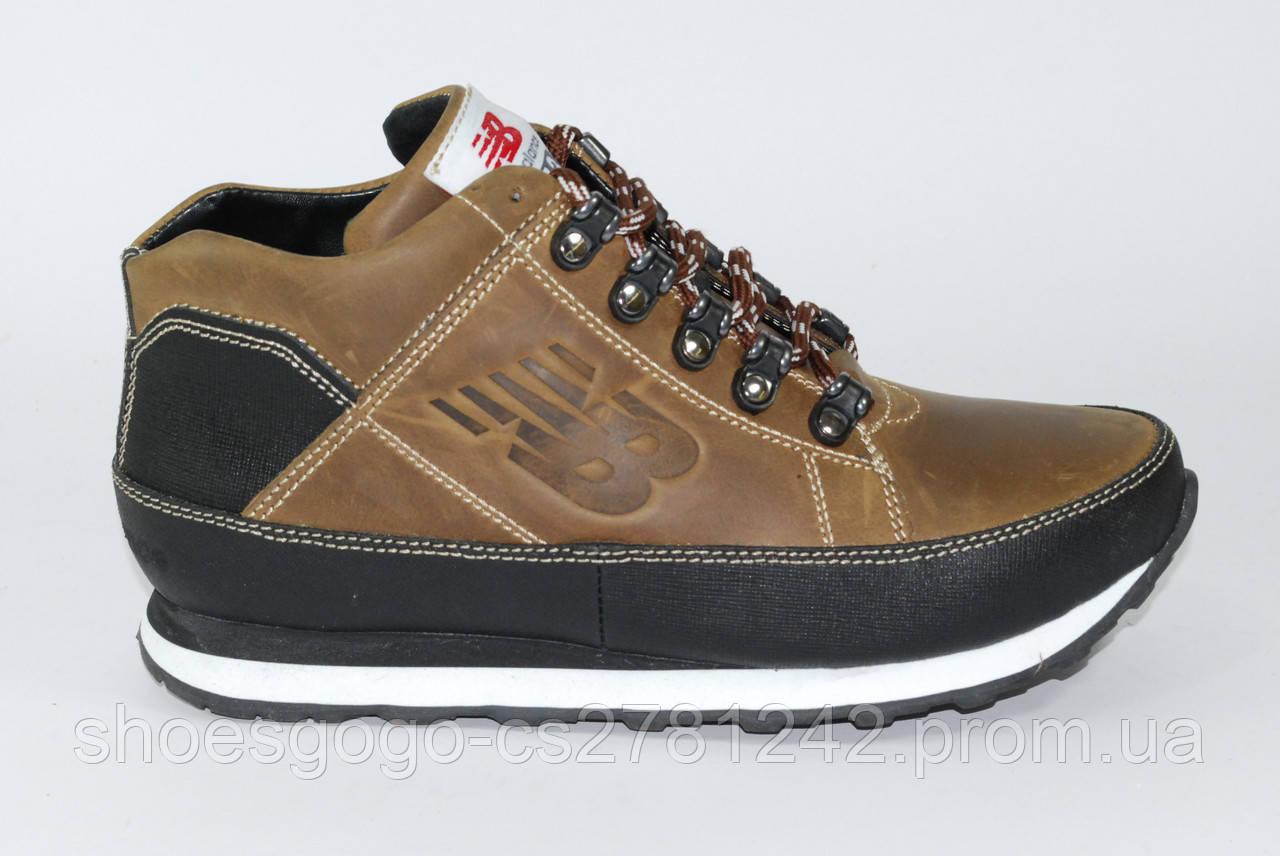213062b6 Кожаные мужские зимние кроссовки New Balance 373 - интернет-магазин