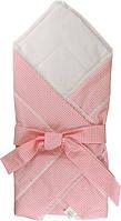 Одеяло-конверт хлопковое для новорожденных Руно 957ХБУ розовое