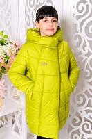 Куртка зимняя с капюшоном для девочки, фото 1