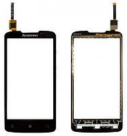 Тачскрин (сенсор) для Lenovo A820 леново, цвет черный
