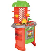 Детская кухня для девочек. Игрушечная кухня. Игровой набор кухня с посудой.