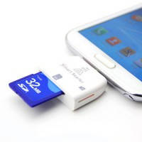 OTG картридер Navsailor SD/microSD (A202)