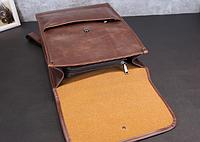 Мужская кожаная сумка. Модель 61358, фото 5