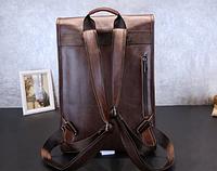 Мужская кожаная сумка. Модель 61358, фото 9
