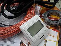 """Нагревательный кабель  коплект с цифровым  регулятором """"FENIX"""" 1.4 м.кв"""